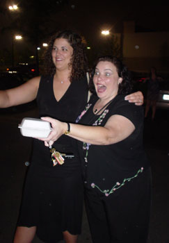 Have these women been drinking enough to walk out in front of cars? Um.. Yes.