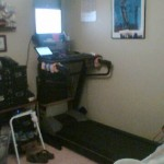 The Flerly Office DIY Treadmill desk